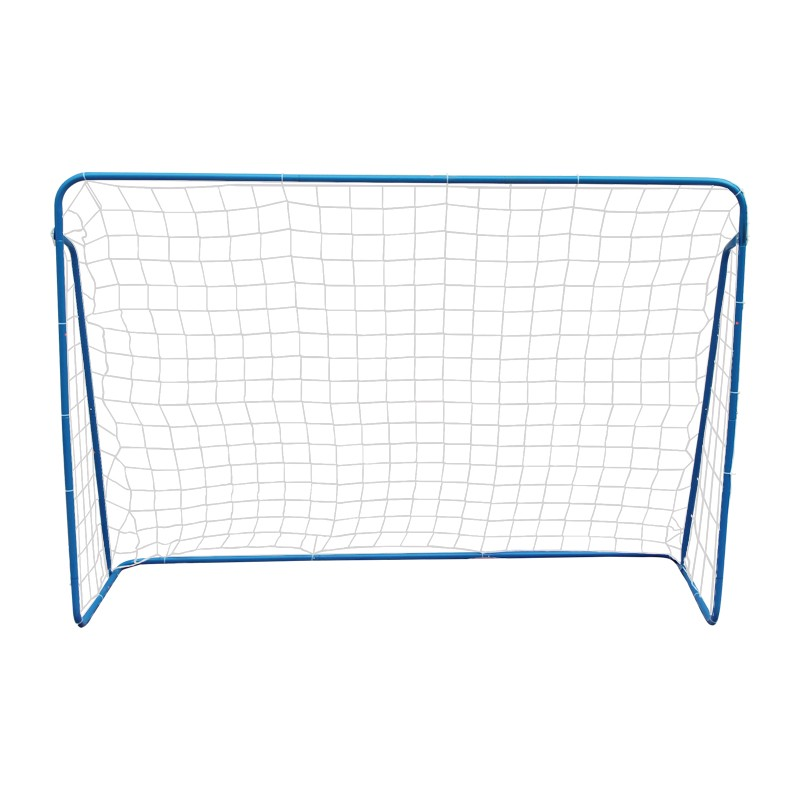 Soccer Goal 215cm Steel Frame Portable Football Net No