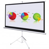 120 Inch 4:3 Tripod Portable Projector Screen
