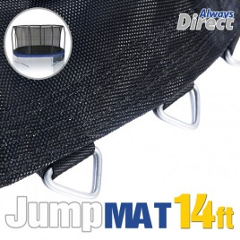 Replacement Jumping Mat  for 14 Feet Trampoline with 88 pcs V-ring for L178mm spring