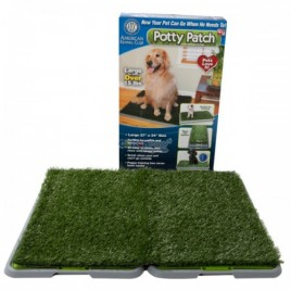 Indoor Pet Potty Dog Training Pad Toilet Loo 3 Tier -Dogs-Cats XL