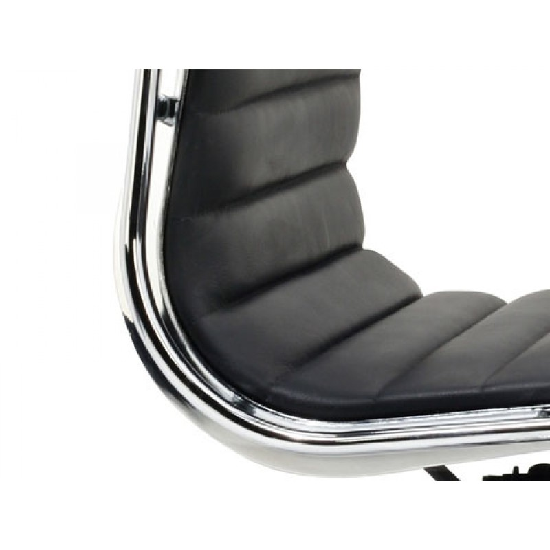 Eames Low Back Executive Chair Black Details