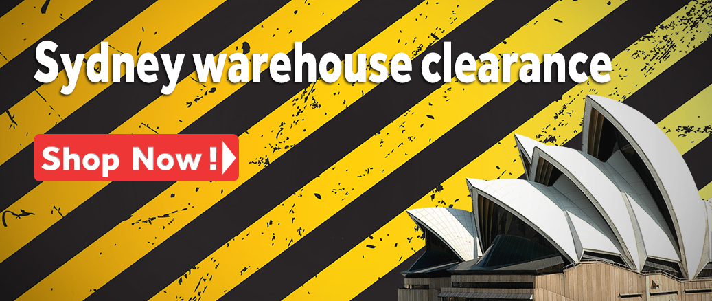 NSW warehouse Clearance