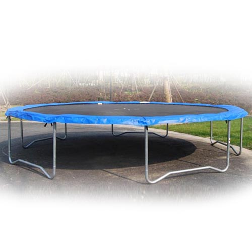16 Feet Foot Outdoor Trampoline Enclosure Set With Net And