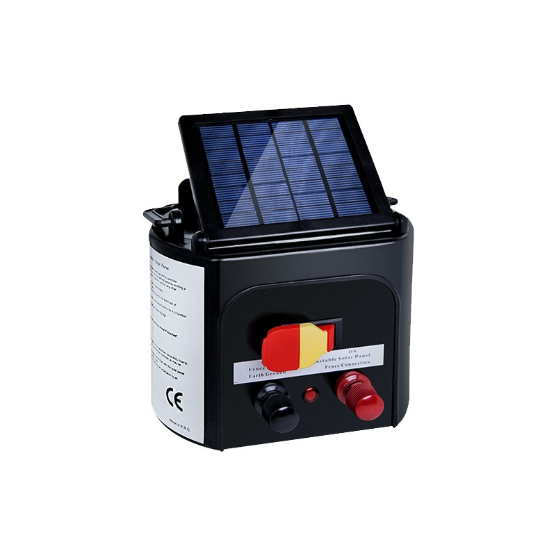 5km Solar Electric Fence Energiser Energizer Power Charger