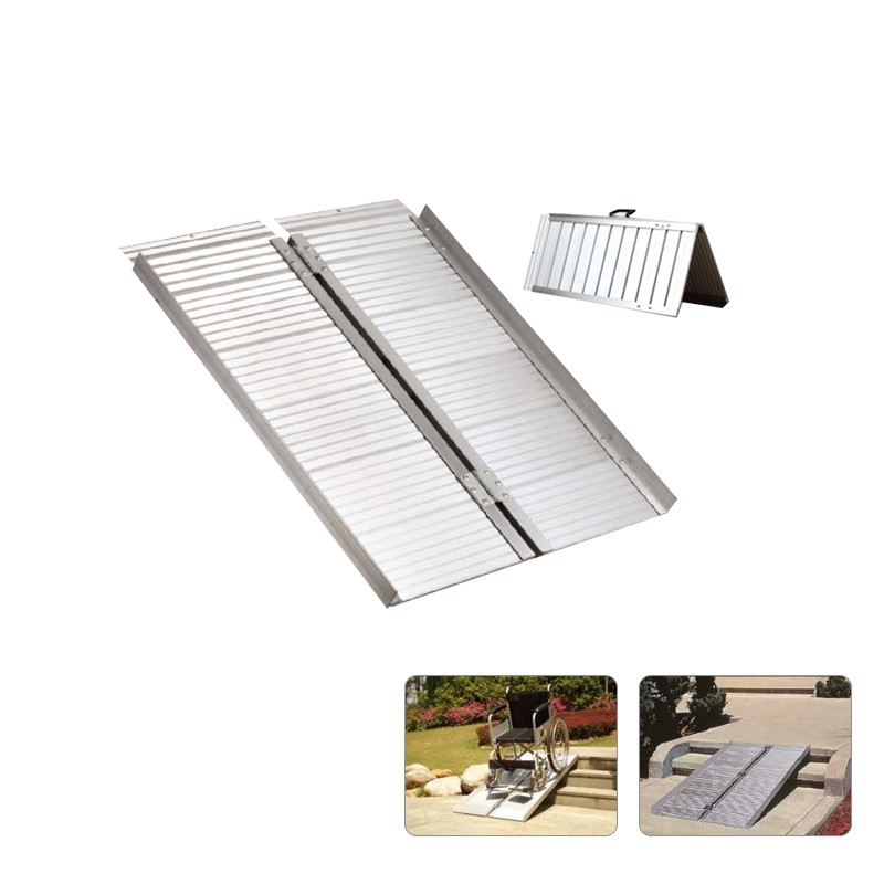 2FT Portable Aluminium Folding Wheel Chair Ramps Loading  : AD ZAP2200 from alwaysdirect.com.au size 800 x 800 jpeg 66kB