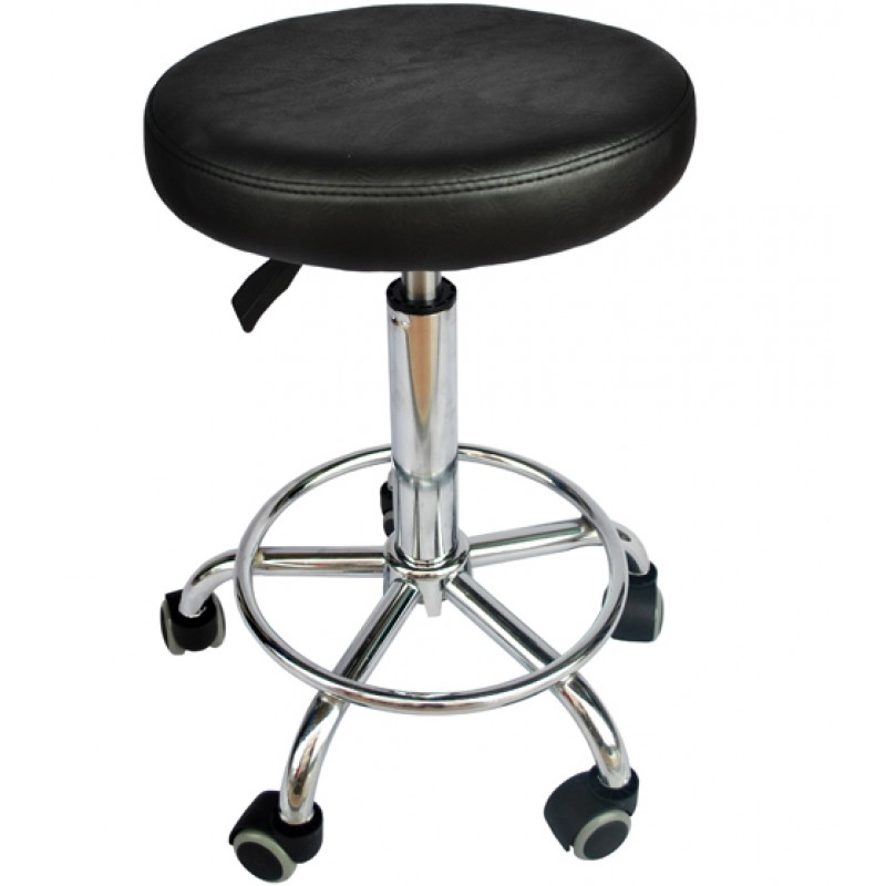 Black Salon Stool Chair Hydraulic Adjustable Barber Stool Tattoo Equipment  sc 1 st  Always Direct : salon stool chair - islam-shia.org