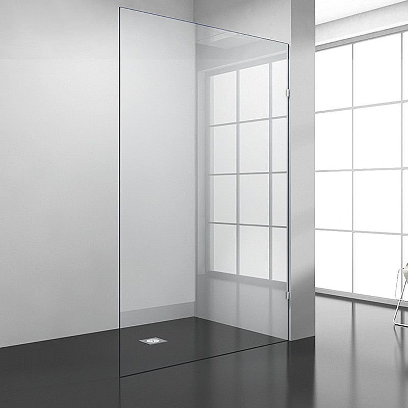 X Toughened Glass Shower Screen  Mm Thick