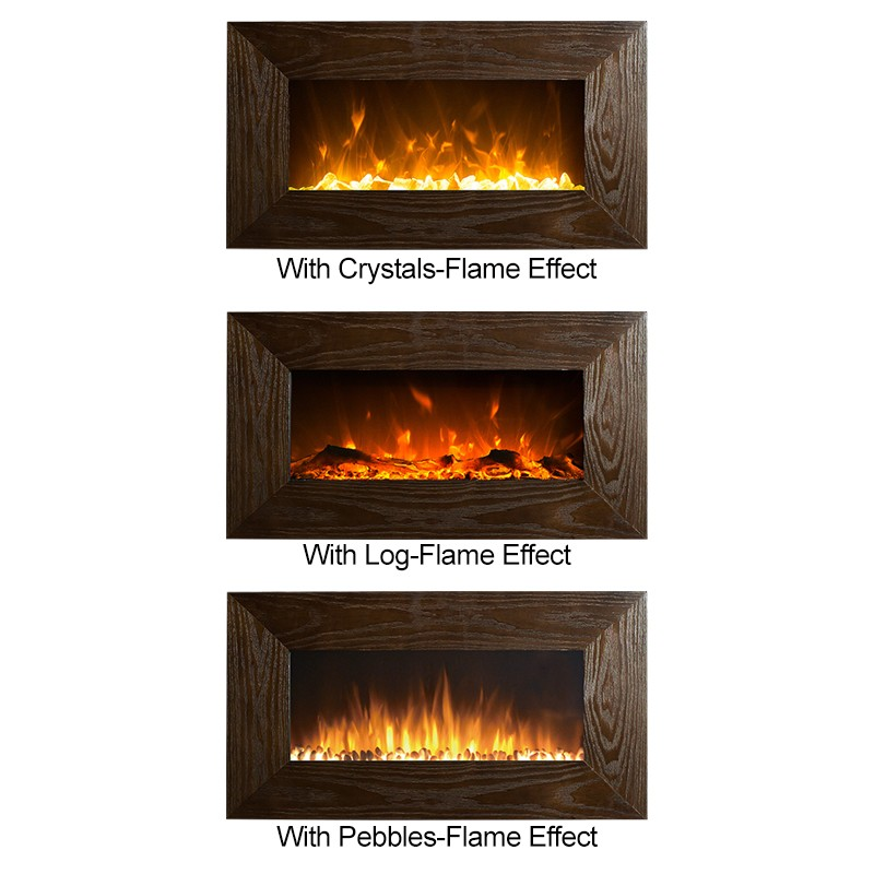 Phenomenal 1500W 36 Wooden Frame Mdf Wall Mounted Electric Fireplace Heater Download Free Architecture Designs Scobabritishbridgeorg