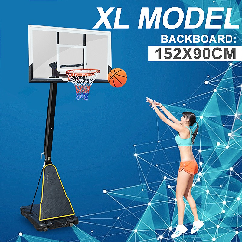 60 Inch Portable Xl Basketball Ring System Adjustable 2 3