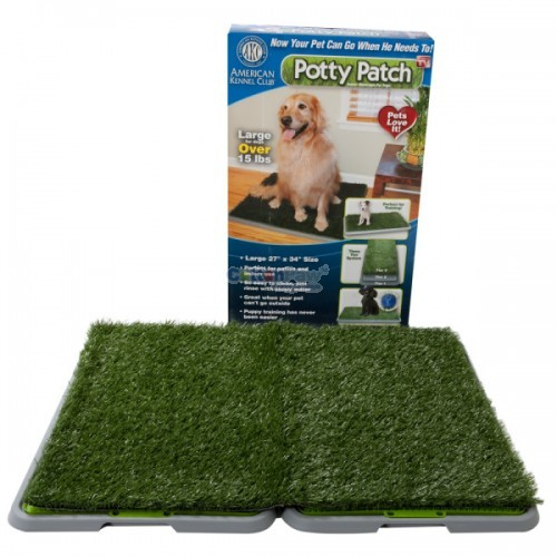 Indoor Pet Potty Dog Training Pad Toilet Loo 3 Tier Dogs