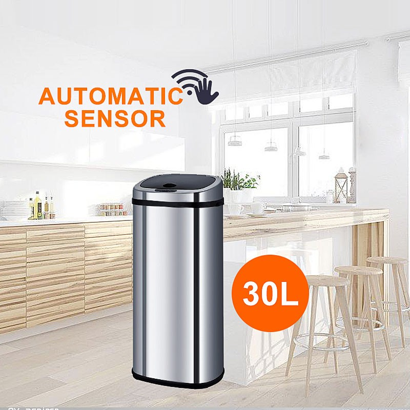Sensor Rubbish Bin Dustbin Kitchen Office Sensor