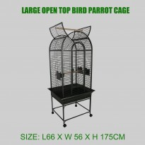 Large Metal Parrot Pet Cage Bird Cage With Wheels