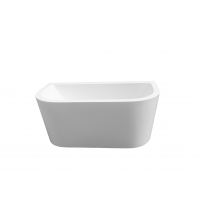 Bathroom Acrylic Free Standing Bathtub Bath Tub back to wall Freestanding1500 x 800 x 600MM  (7110)