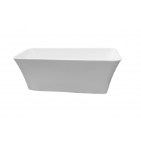 Bathroom Acrylic Free Standing Bath Tub Thin Edge 1700 x 750 x 600mm Freestanding (8003)