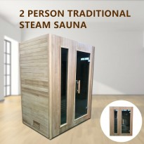2 Person Indoor Traditional Steam Sauna 002S