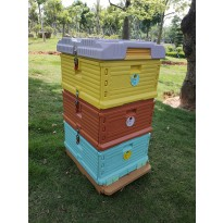 3 Layer Solid Insulation Plastic Beehive
