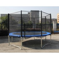 14FT Trampoline with Safety Net and Ladder