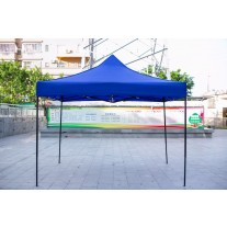 3X3M Folding Gazebo Outdoor Marquee Pop Up Navy Blue