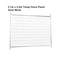 Temporary Fencing Fence 3mm Mesh Panel 2100mmx2400mm