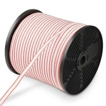 12mm x800m Roll Polytape for Electric Fence Fencing Kit Stainless Steel Wire Poly Tape