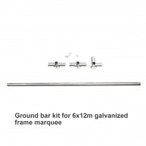 Ground Bar Kit For 6 X 12m Galvanized Frame Marquee