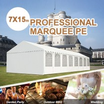 Commercial Grade Classic 7x15m Marquee Heavy Duty Party Tent (Brisbane Pre-Order)