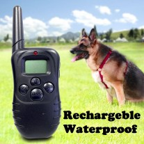 Rechargeable and Waterproof 100-Levels Dog Training Collar