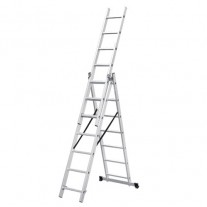 Combination Extension Ladder 430cm 5 in 1 Ladder Holds 150kg