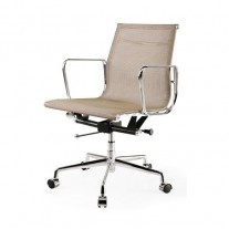 Replica Mesh Eames Office Chair Low Back Brown - Premium