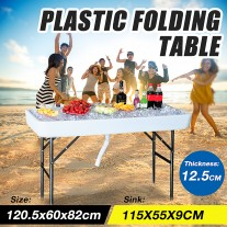 115cm Chill & Fill Party Ice Folding Table