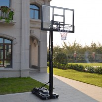 47 inch Portable Basketball Hoop and Stand Height Adjustable Up To 3.05m