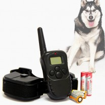 2 Dog REMOTE Anti Bark Collar STOP BARKING LCD Electric NEW