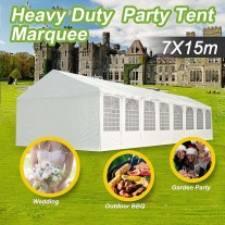 Commercial Grade Galvanised Frame 7x15m Wedding Marquee Heavy Duty Party Tent