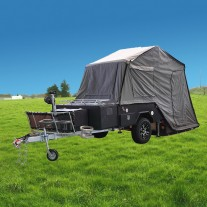 Ranger Camper Trailer (Black or Grey)  - Clearance