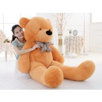 2.0m Giant Soft Teddy Bear Light Brown