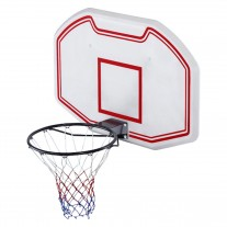 Wall Mounted Basketball 90x60cm Backboard Adjustable Height 2.1-2.6m