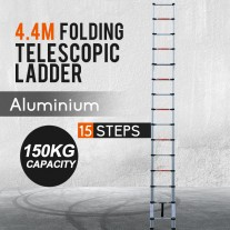 4.4M Alloy Telescopic Aluminium Ladder Alloy Extension