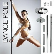 45mm Portable Spinning Dance Pole Stripper Fitness Exercise Dancing