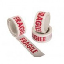 Warning Tape Fragile  48mm x 66m 6 Rolls