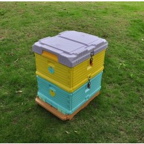2 Layer Solid Insulation Plastic Beehive