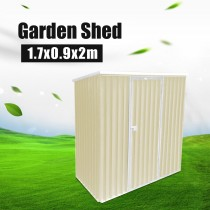 Pent Roof Garden Tool Storage Shed 1.7x0.9x2m