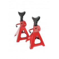 Car Jack Stand 3T 3000kg 2pcs Height Adjustable Q235 Steel and Cast Iron