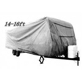 4 Layer Caravan Cover for Caravans 14 - 16ft 503x247x220H cm