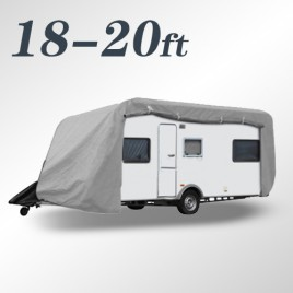 Budget Caravan Cover for Caravans 18 - 20 ft 625x271Hx259