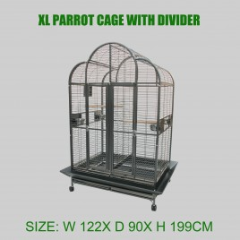 High Quality Playtop Strong Metal X Large Parrot Cage Bird Cage With Divider