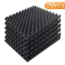 Sound Absorption Foam Square - 22 Sheets