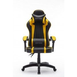 High Back Ergonomic Gaming Office Executive Racing Chair Seat - Yellow