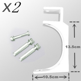2x Ceiling/ Wall Mounted Mount Bracket For 2.5M, 3m or 4m Awning (Free shipping)
