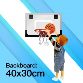 Mini Indoor Basketball Hoop Kids Children Backboard with Net Rim