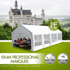 Classic Commercial Grade Marquee 8x4m Heavy Duty Classic Party Tent (Pre-order)